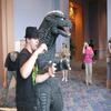 30 GODZILLA AND FAN